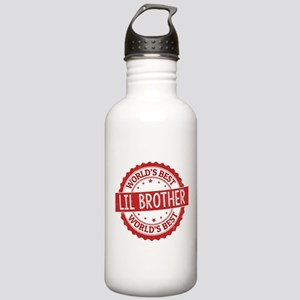 World's Best Lil Broth Stainless Water Bottle 1.0L