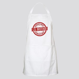 World's Best Lil Brother Apron