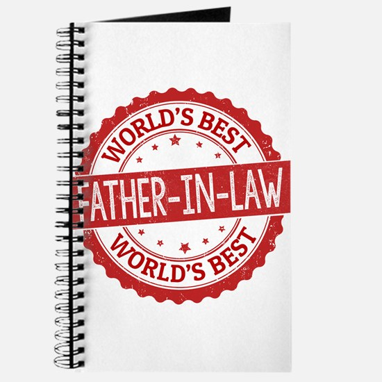 World's Best Father-in-Law Journal