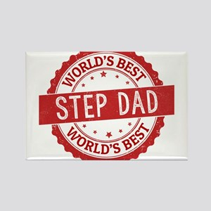 World's Best Step Dad Magnets