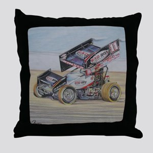 11 at Lincoln Throw Pillow