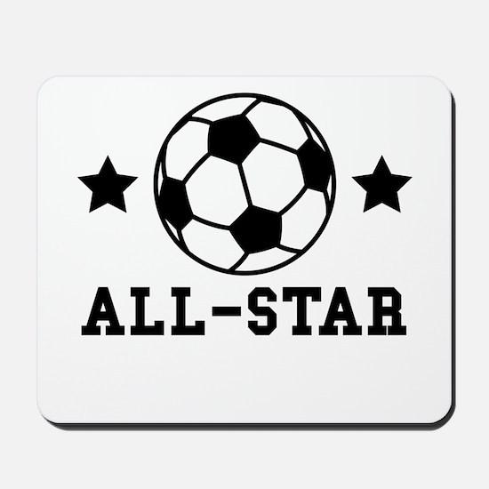 Soccer All Star Mousepad
