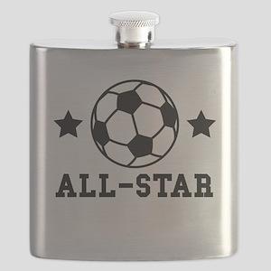 Soccer All Star Flask