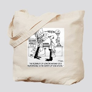 Science Cartoon 4735 Tote Bag