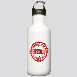 World's Best Big Broth Stainless Water Bottle 1.0L