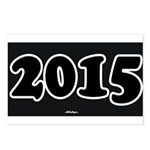 2015 License Plate Postcards (Package of 8)