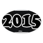 2015 License Plate Sticker