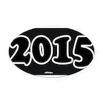 2015 License Plate Oval Car Magnet
