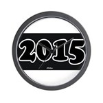 2015 License Plate Wall Clock