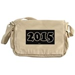 2015 License Plate Messenger Bag