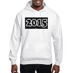 2015 License Plate Hoodie Sweatshirt