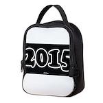 2015 License Plate Neoprene Lunch Bag