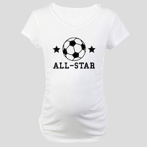 Soccer All Star Maternity T-Shirt