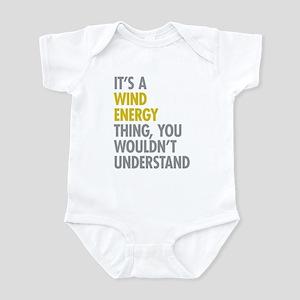 Wind Energy Thing Infant Bodysuit