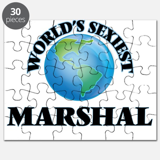 World's Sexiest Marshal Puzzle