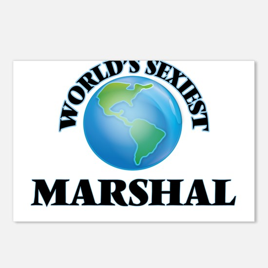 World's Sexiest Marshal Postcards (Package of 8)