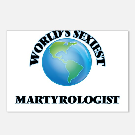 World's Sexiest Martyrolo Postcards (Package of 8)