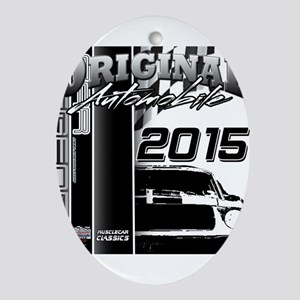 2015 Original Automobile Ornament (Oval)