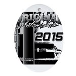 2015 Original Automobile Ornament (Oval)