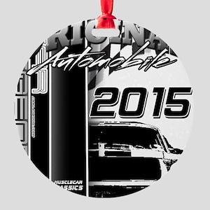 2015 Original Automobile Round Ornament