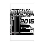 2015 Original Automobile Poster Print