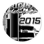 2015 Original Automobile Round Car Magnet