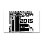 2015 Original Automobile Rectangle Car Magnet