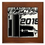 2015 Original Automobile Framed Tile