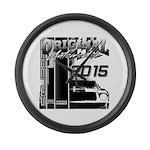 2015 Original Automobile Large Wall Clock