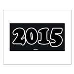 2015 License Plate Small Poster