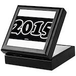 2015 License Plate Keepsake Box