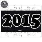 2015 License Plate Puzzle