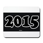 2015 License Plate Mousepad