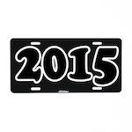 2015 License Plate Aluminum License Plate