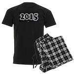 2015 License Plate pajamas