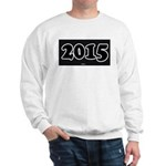 2015 License Plate Sweater