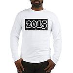 2015 License Plate Long Sleeve T-Shirt