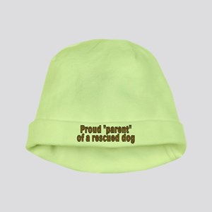 Proud parent rescued dog - baby hat