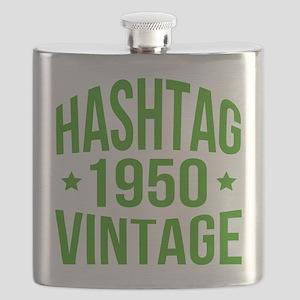 1950 Hashtag Vintage Flask