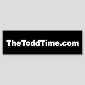 TheToddTime.com Bumper Sticker