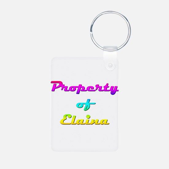 Property Of Elaina Female Keychains