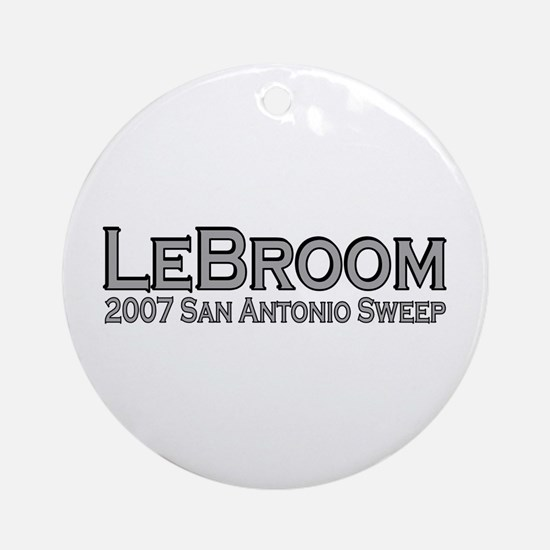 LeBroom San Antonio Sweep Ornament (Round)