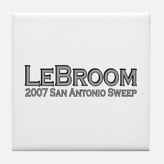 LeBroom San Antonio Sweep Tile Coaster