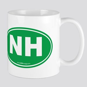 New Hampshire NH Euro Oval Mug