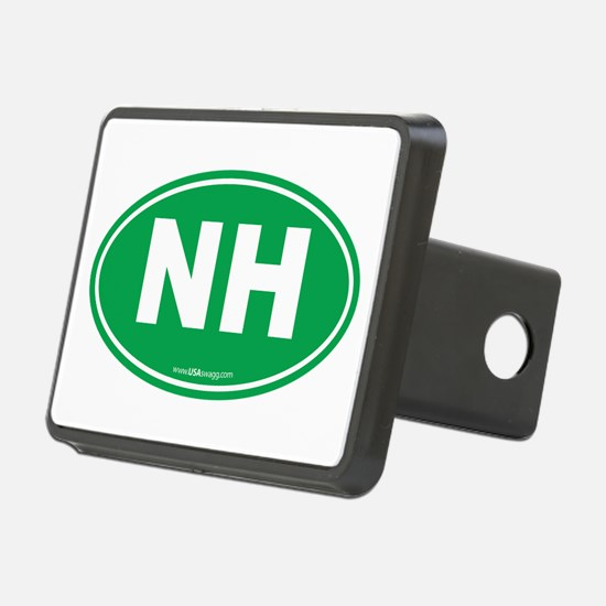 New Hampshire NH Euro Oval Hitch Cover
