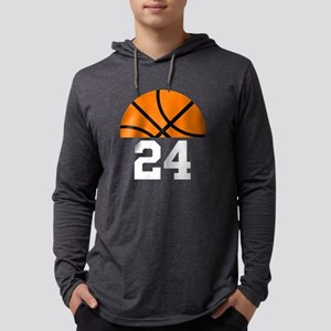 Basketball Player Number Mens Hooded Shirt