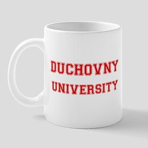 DUCHOVNY UNIVERSITY Mug