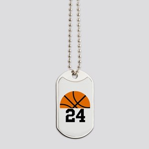Basketball Player Number Dog Tags