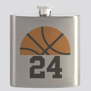 Basketball Player Number Flask