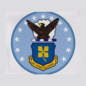 307th Strategic Wing Throw Blanket